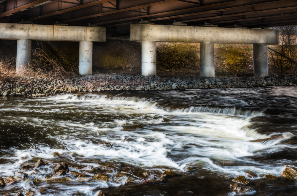 Falls Under the Highway, Blackstone River - 2015