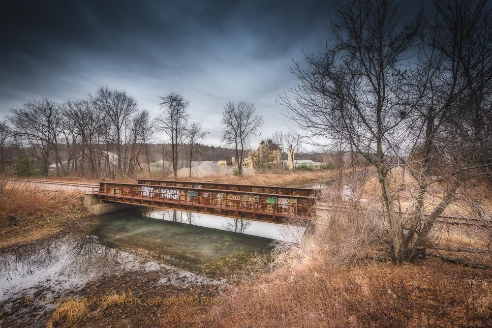 Railroad Bridge, Diversion Canal - 2015