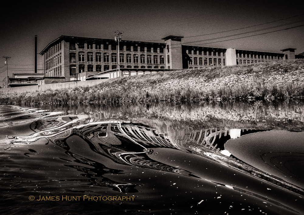 Deindustrialization, Woonsocket,  Rhode Island, 1